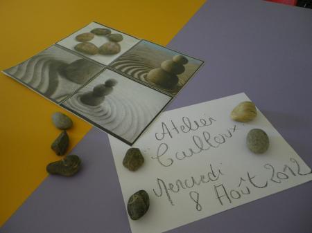 Atelier des pierres et  ............... des visages.